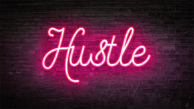 Hustle Quotes Wallpaper Flywheel How To Create A Neon Glow Effect In Photoshop