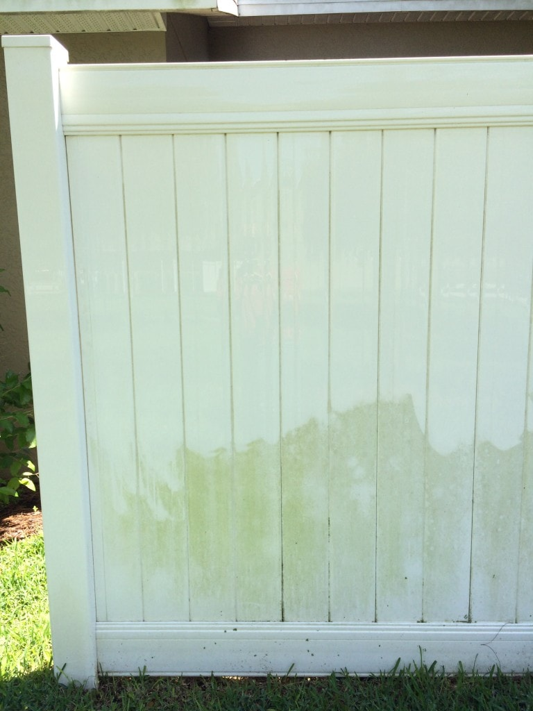 Diy Vinyl Fence Supplies How To Clean A Vinyl Fence Get Green Be Well