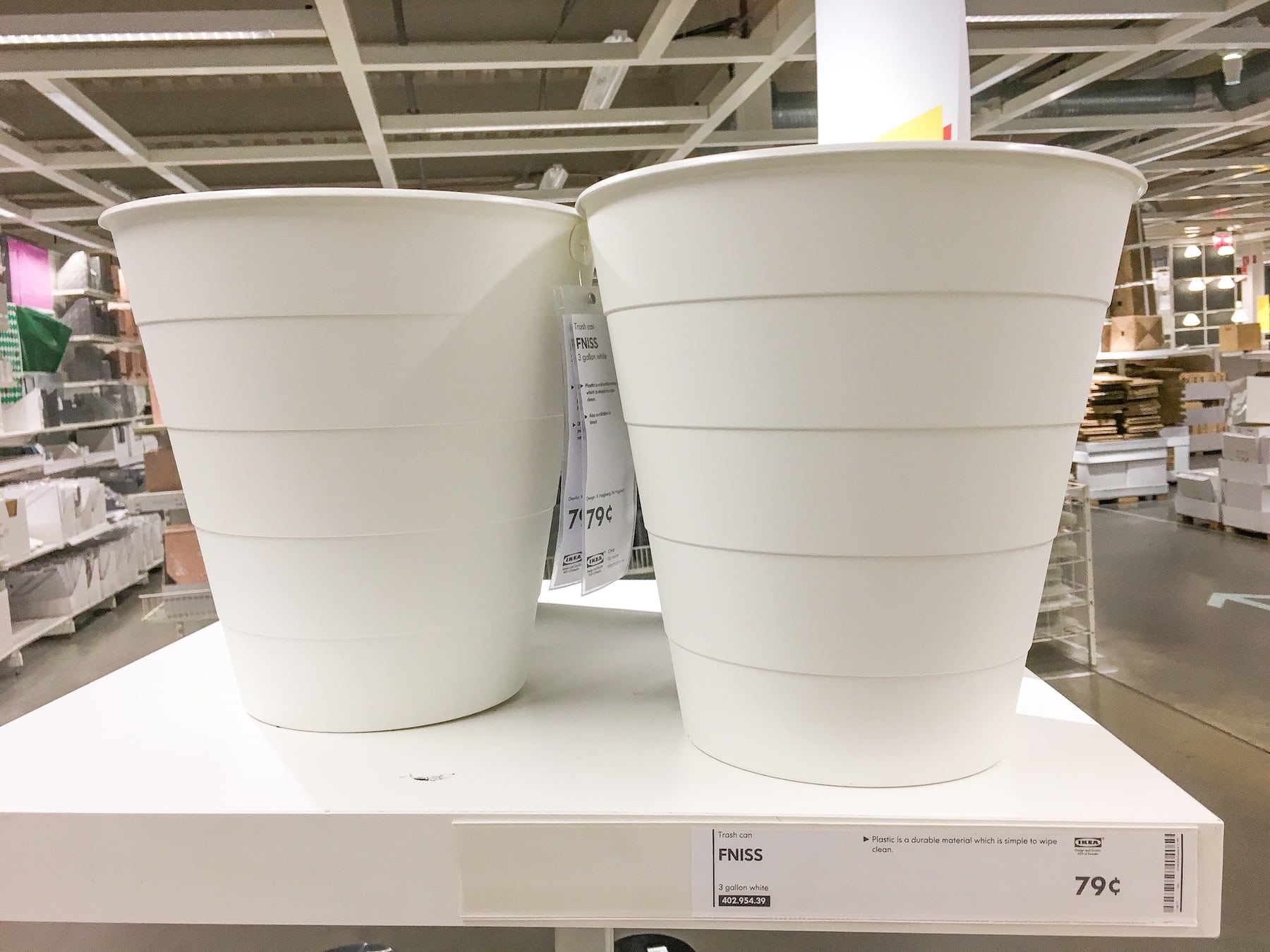 Ikea Planters Large Diy A Trash Can Into A Large Flower Pot Planter Get