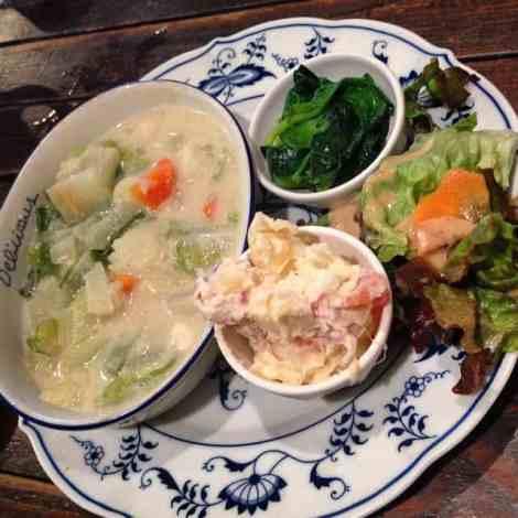 otis vegetarian lunch set