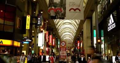 hondori shopping arcade hiroshima