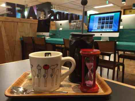 Hands Cafe caftiere coffee
