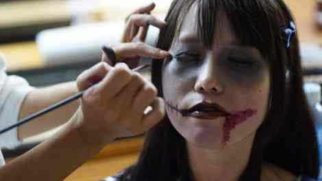 zombie face painting 2