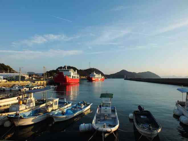 Ogijima Port © David Billa