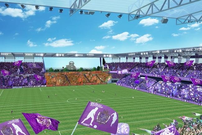 sanfrecce stadium proposal inside