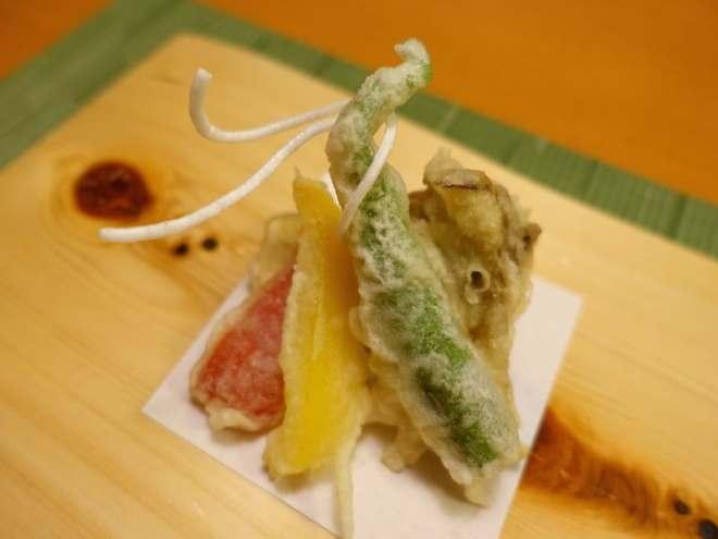 vegetarian kaiseki tenpura