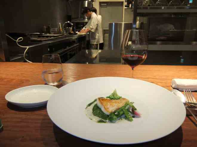Michelin starred restaurant Hiroto in Hiroshima, Japan