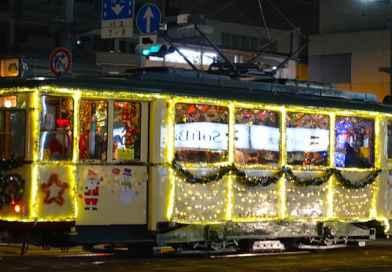 Hiroshima's Christmas Tram