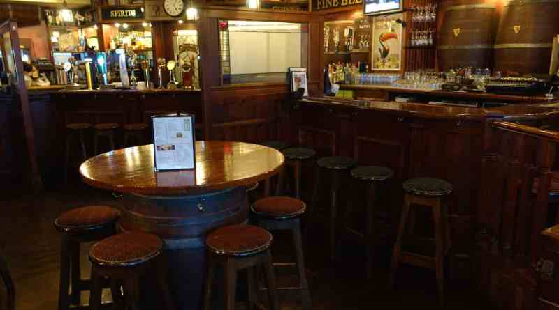 Molly Malone's Irish pub in Hiroshima, Japan