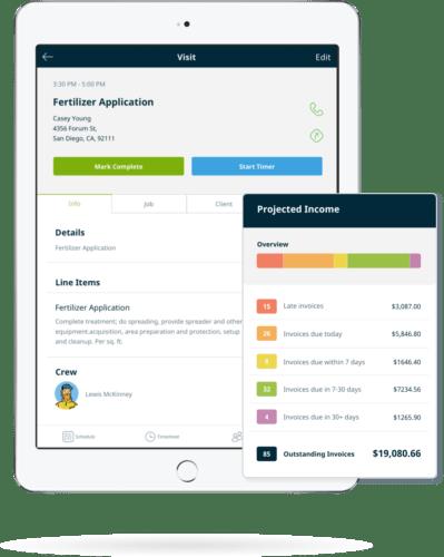 lawn care invoice software