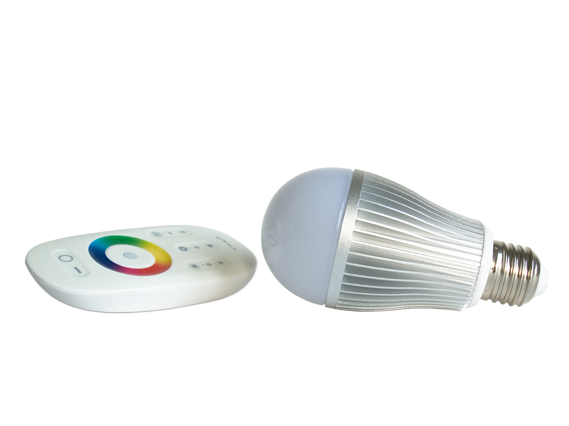 Led Lamp E27 Fitting Led Rgb Lamp E27 Fitting 6 Watt Vermogen