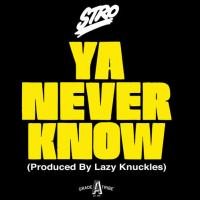 "Brooklyn Rapper Stro (@stro) Drops New Record ""Ya Never Know"" [Music]"