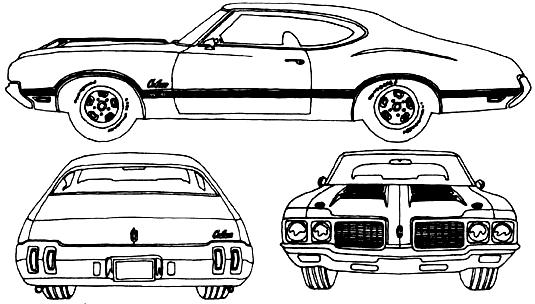 1970 oldsmobile twilight blue