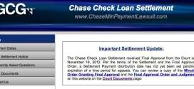 Chase Minimum Payment Class Action Lawsuit Moves Closer to Paying Out