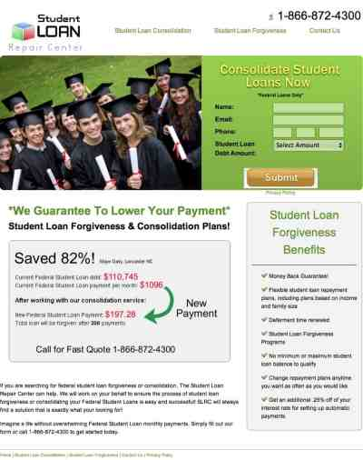 Student Loan Repair Center - Review. Are They a Scam?