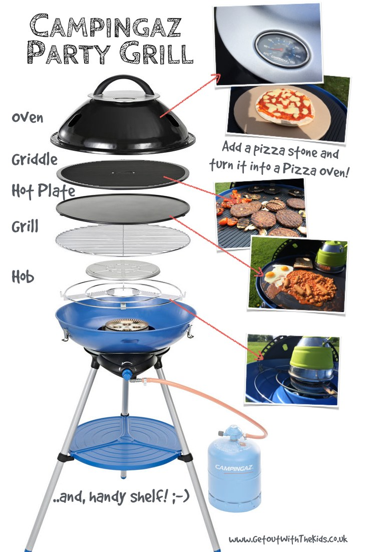 Campinggaz Grill The Campingaz Party Grill An Alternative To The Cadac