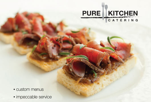 Pure Kitchen Catering - Ad - PrettySmart Marketing PrettySmart