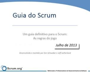 Novo Guia Scrum em Português para Download - PDF