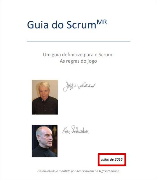 Novo Scrum Guide Em Portugues