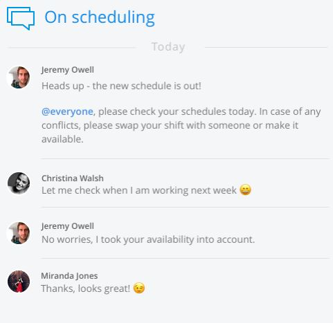 How To Create The Perfect Work Schedule For Your Team Sling - work schedule