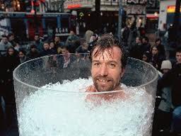 Wim Hof in ice