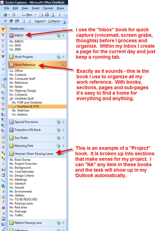 How to use OneNote as a Kanban Board - to check out OneNote - project plan sample