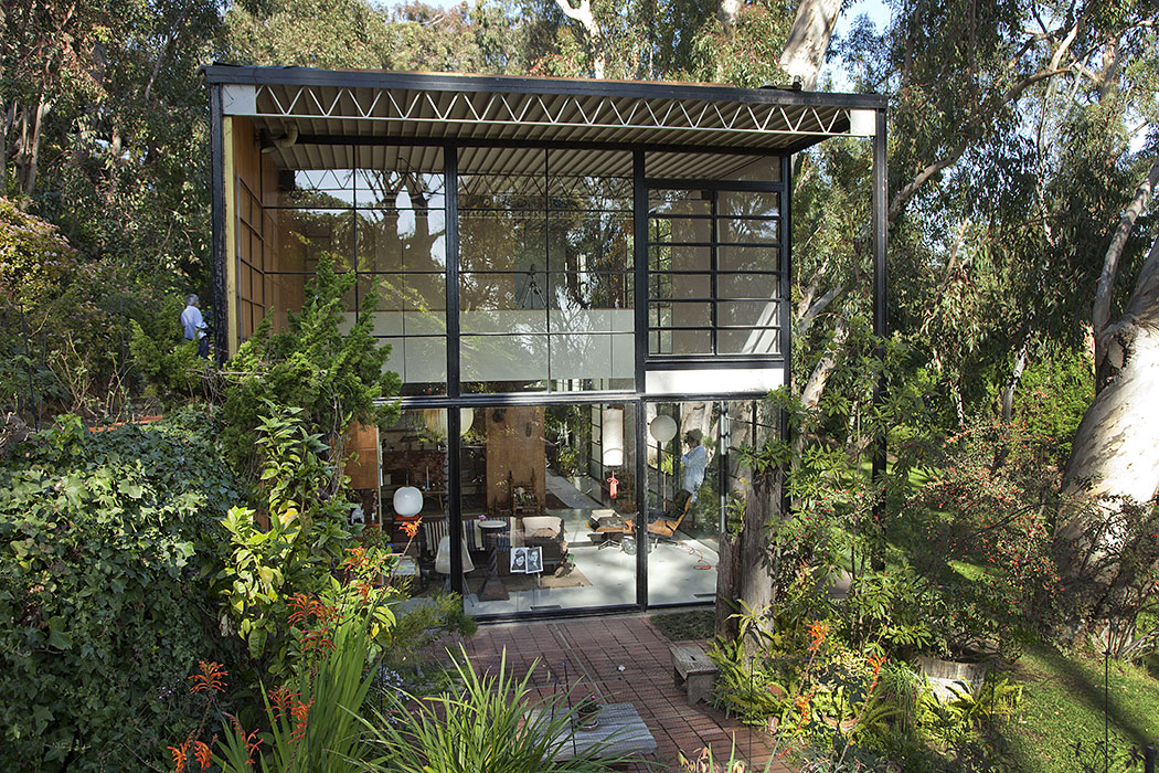 Charles And Ray Eames Eames House Conservation Project