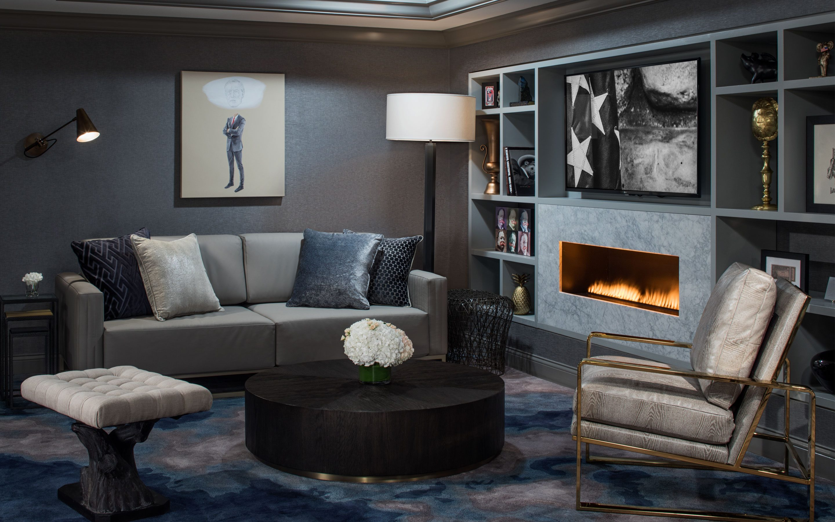 Gray Interior Design Hotel Design And Development Firm The Gettys Group
