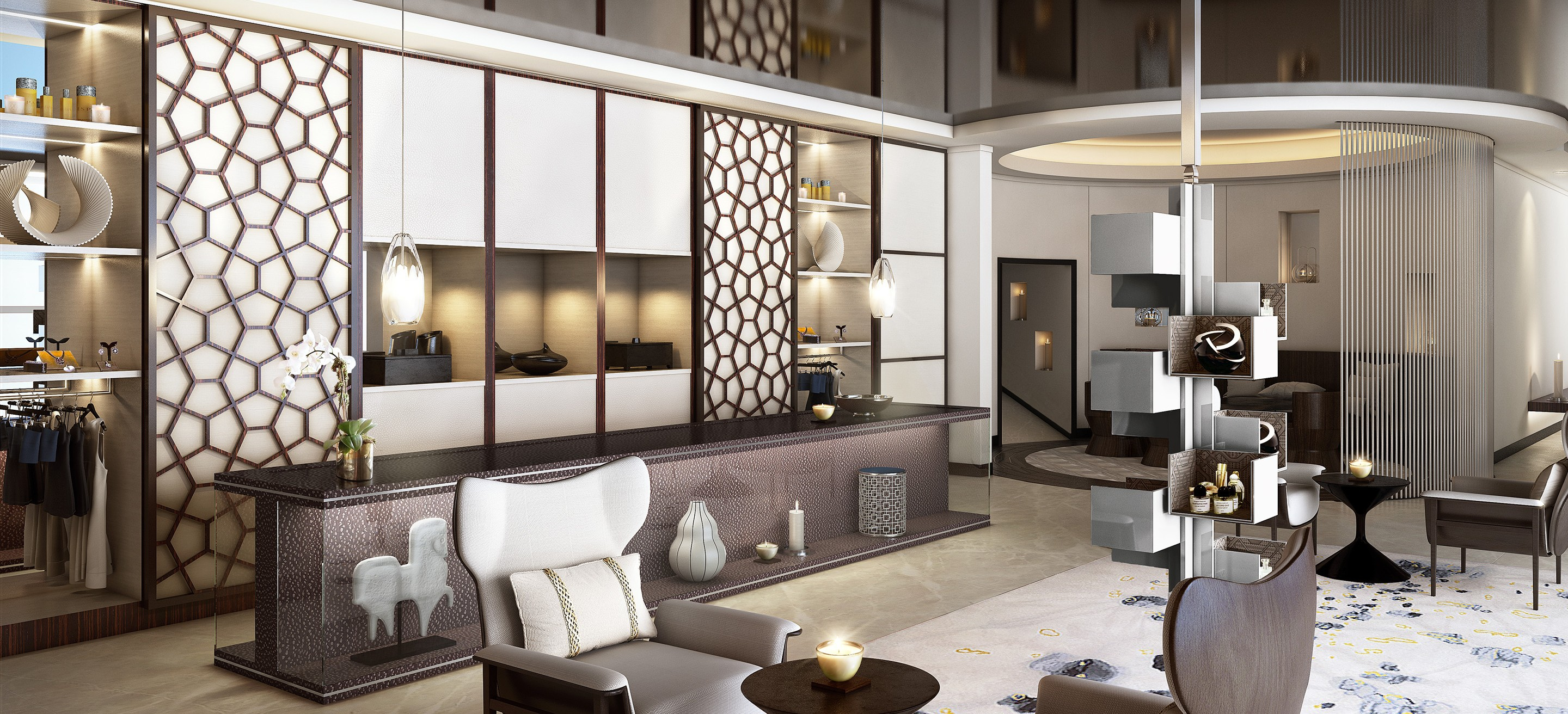 Hotel Interior Design Luxury Hotel Qatar The Gettys Group