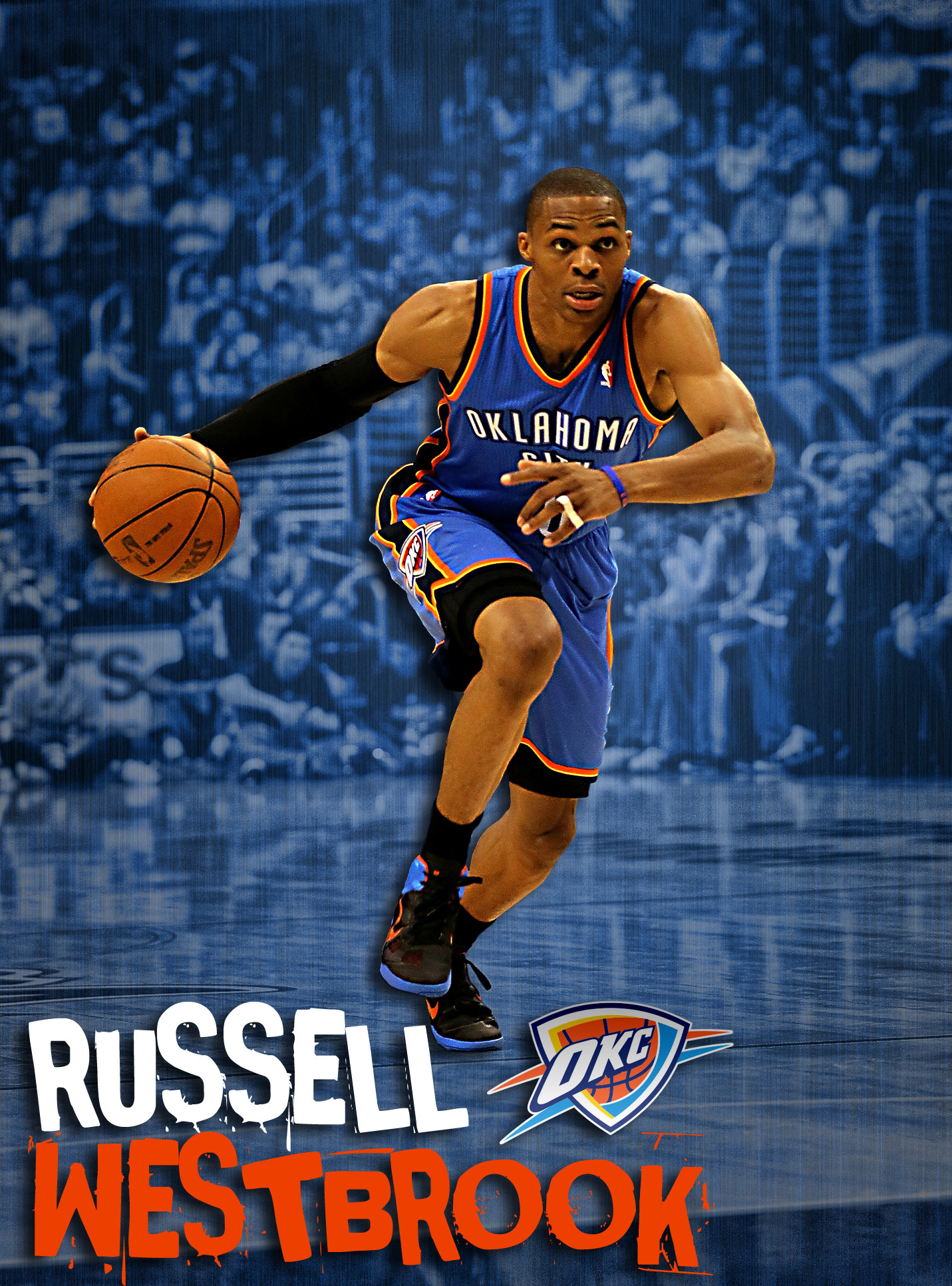 Nba Players Iphone Wallpaper Russell Westbrook Wallpaper Iphone 68 Images