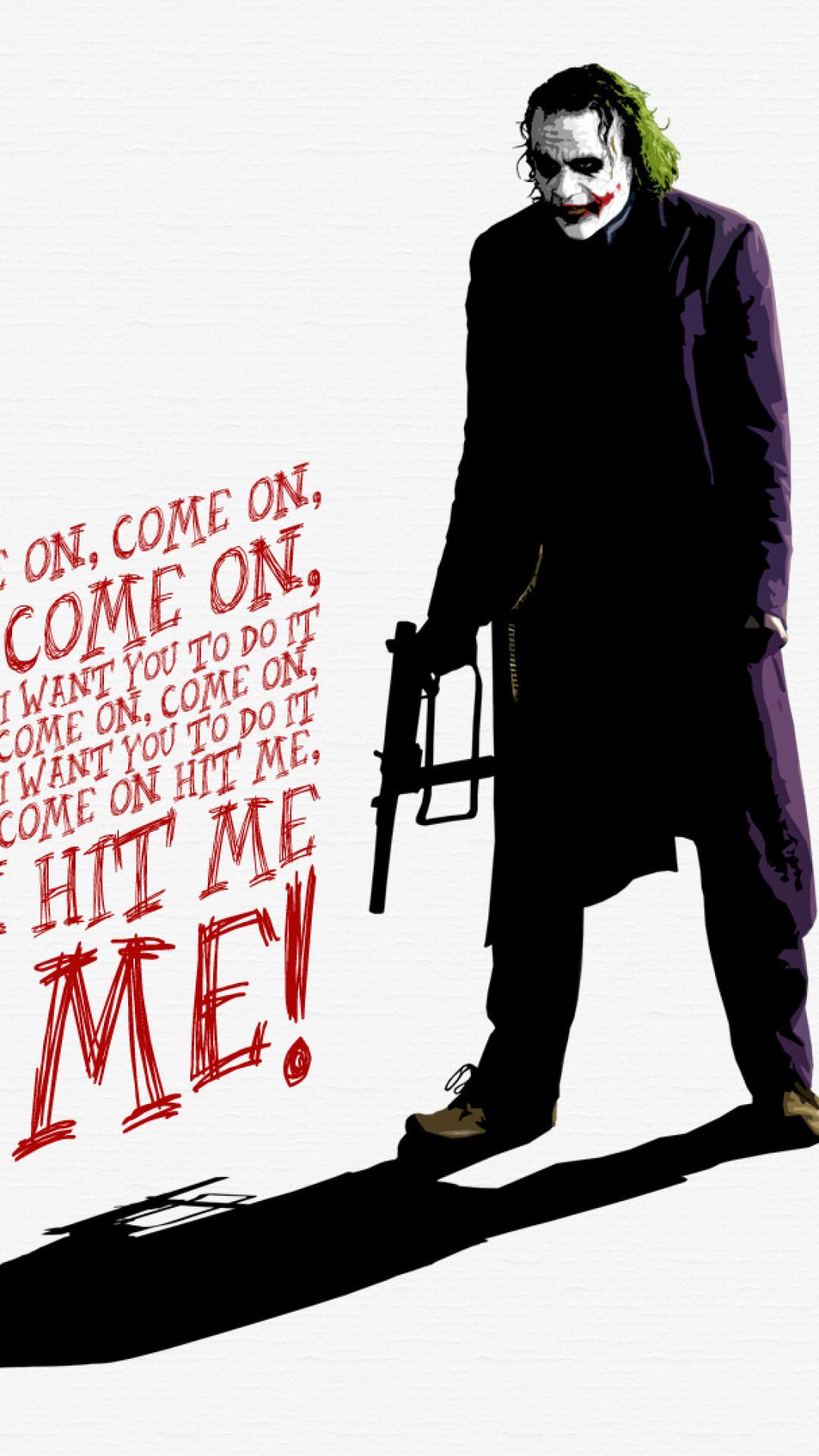Batman Joker Quotes Mobile Wallpaper Joker Dark Knight Wallpaper 69 Images