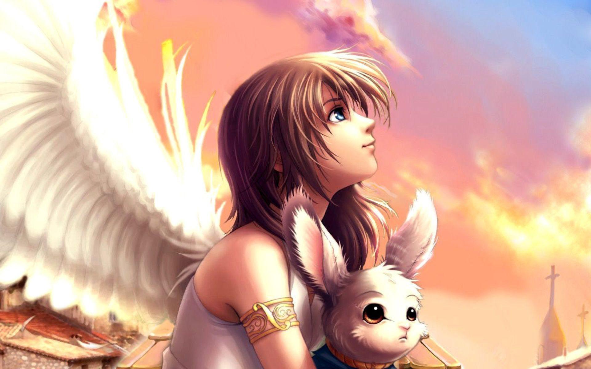 Samsung Galaxy S6 Wallpaper Anime Demon Girls Anime Angel Wallpaper 66 Images