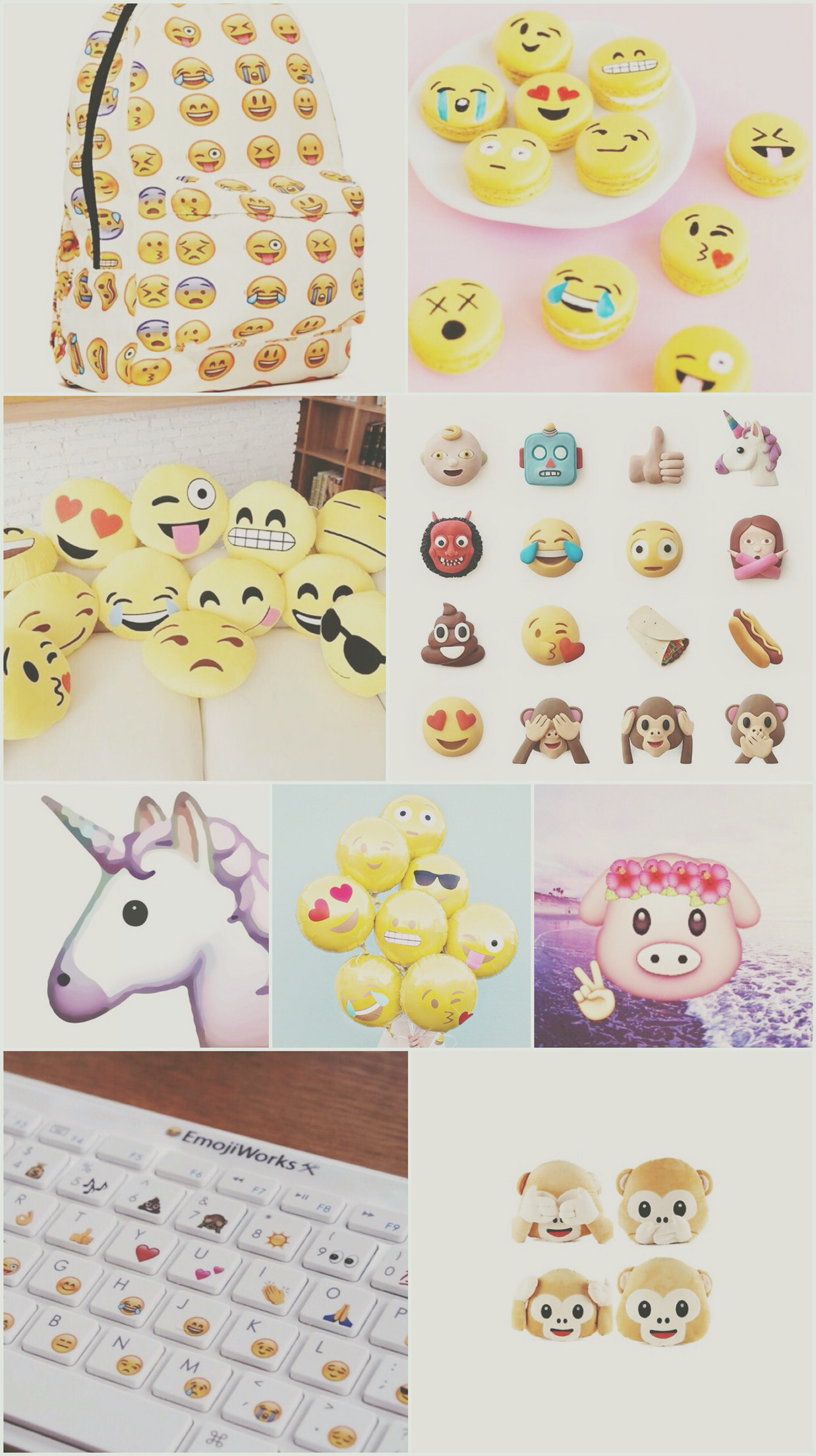 Cute Bow Iphone Wallpaper Cute Emoji Wallpapers For Iphone 57 Images