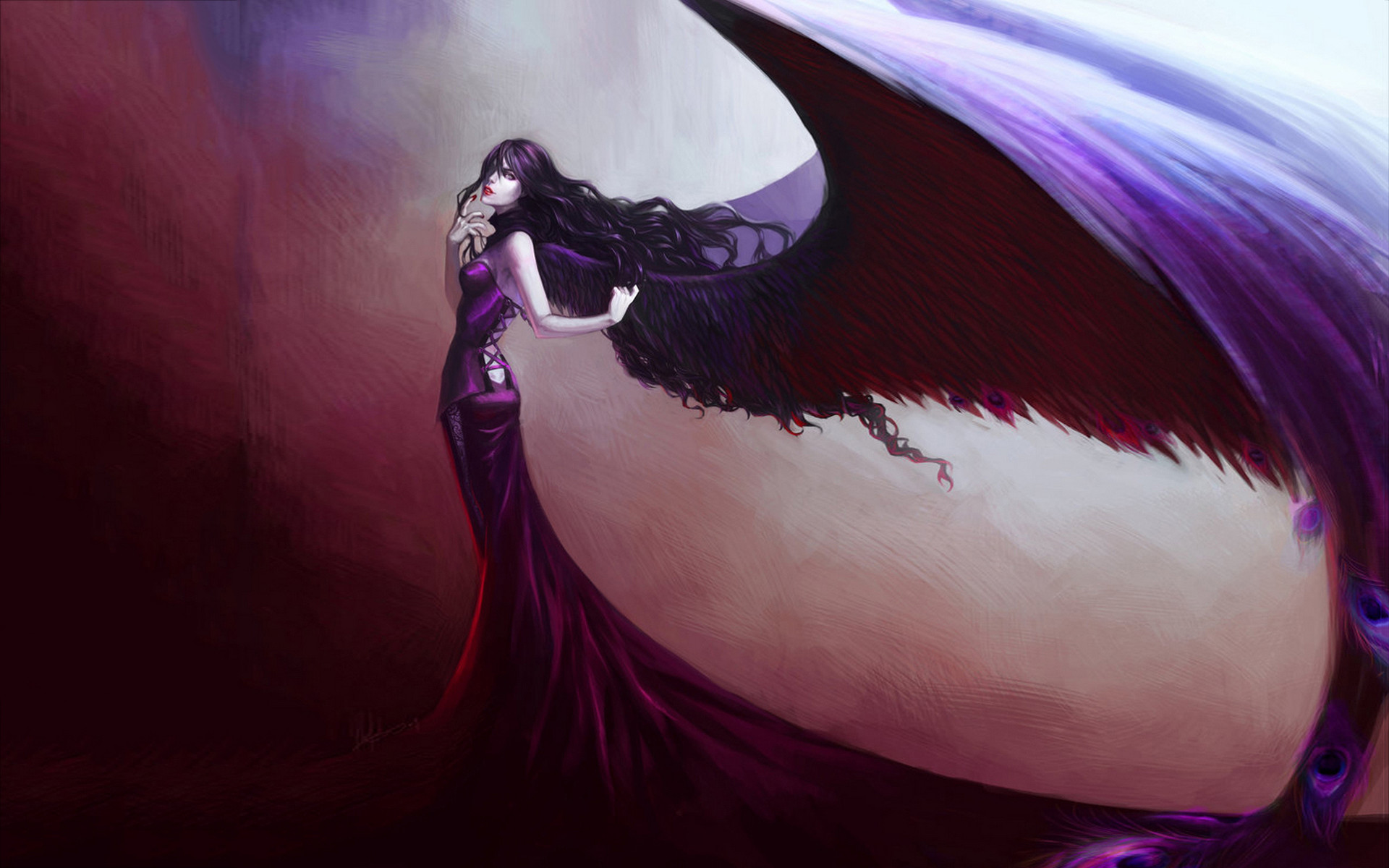 Fall Desktop Wallpaper 2500x1600 Anime Gothic Angel Wallpaper 61 Images