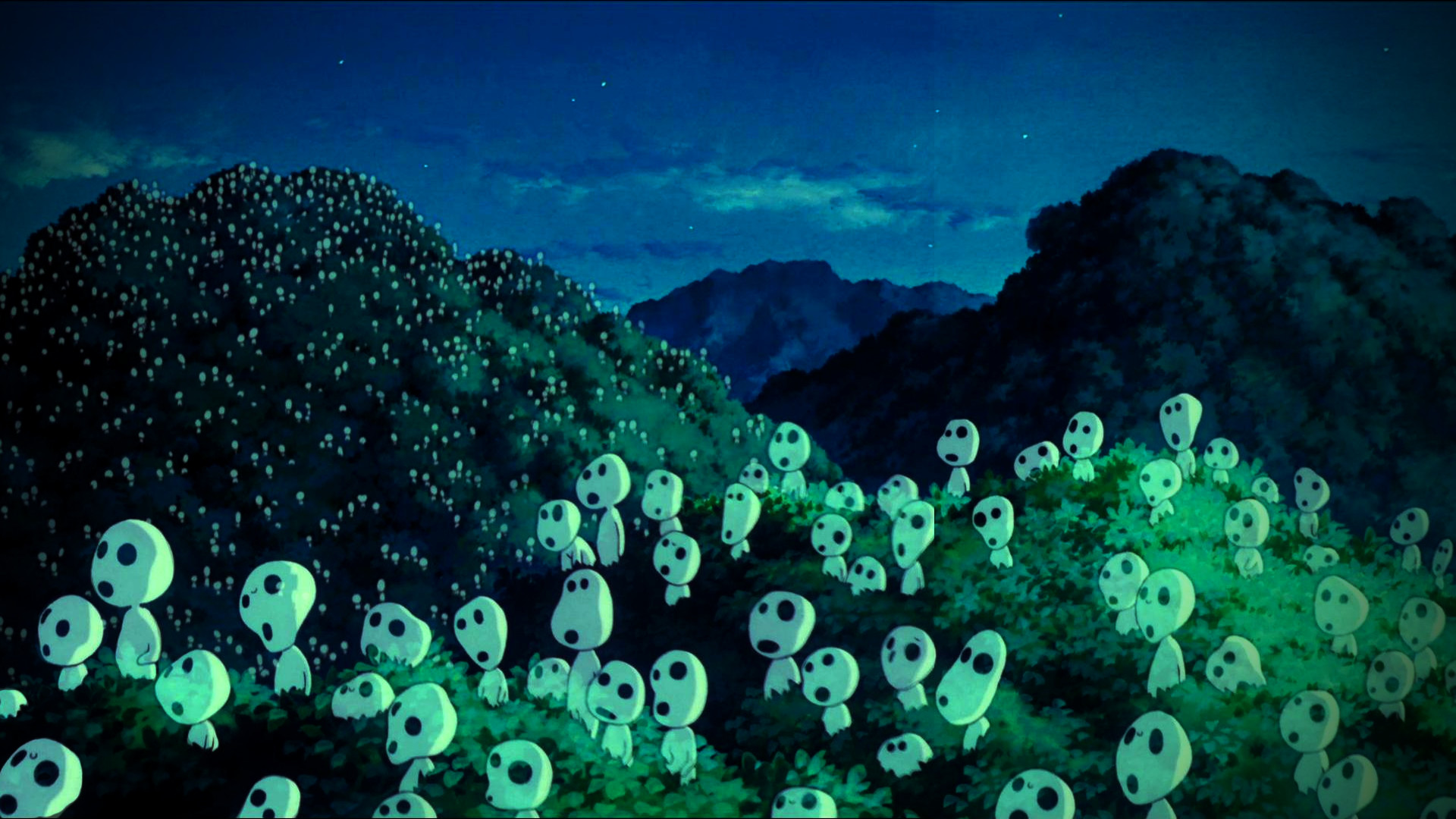 Cute Country Wallpaper Ghibli Background Kodama 51 Images