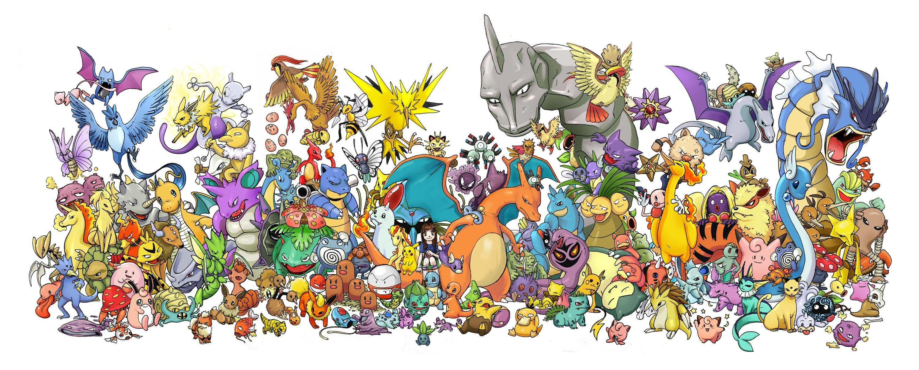 Cute Anime Wallpaper Hd Free Download All Pokemon Wallpaper 77 Images