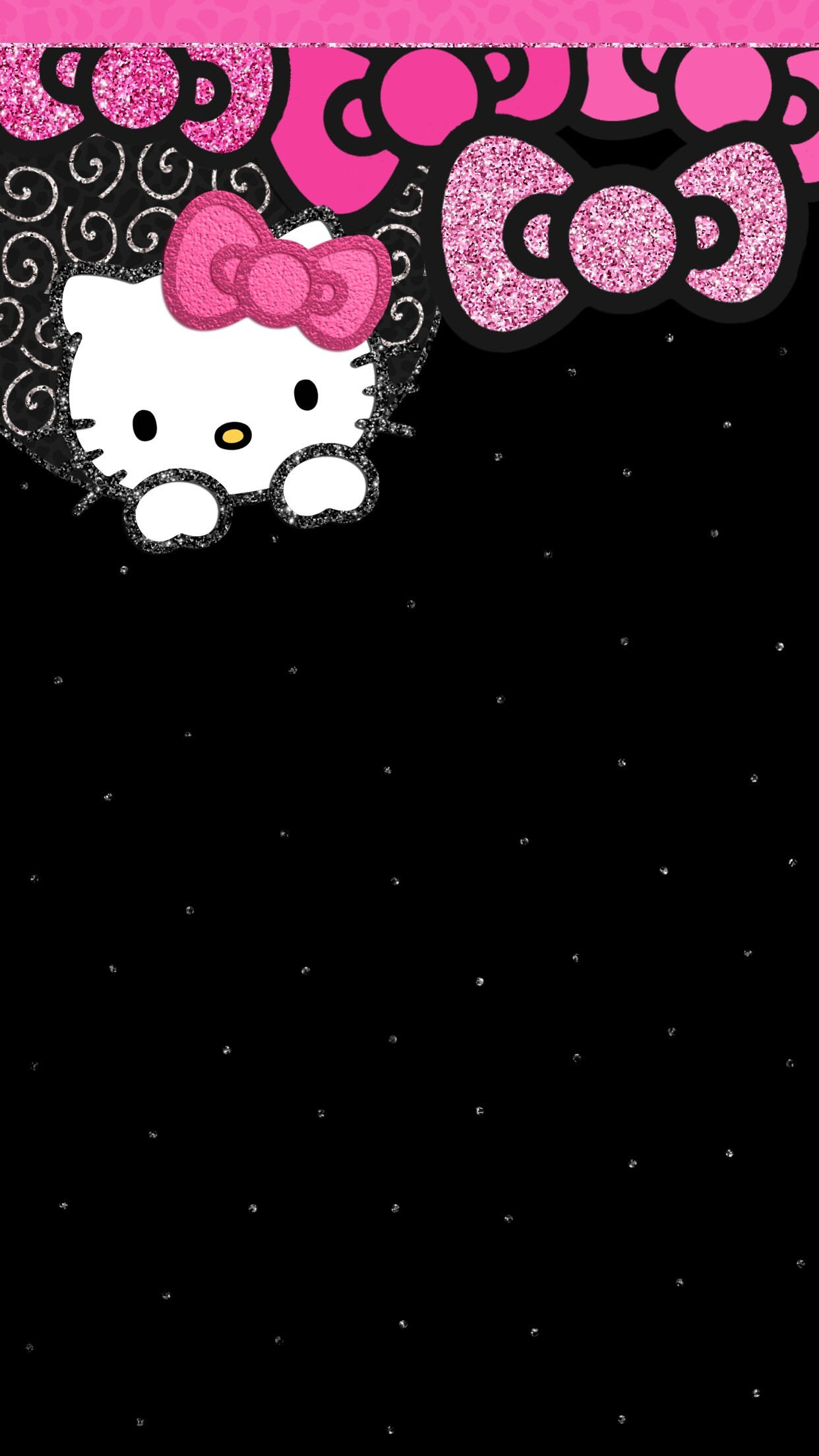 Cute Zig Zag Wallpapers Hello Kitty Wallpaper For Iphone 72 Images