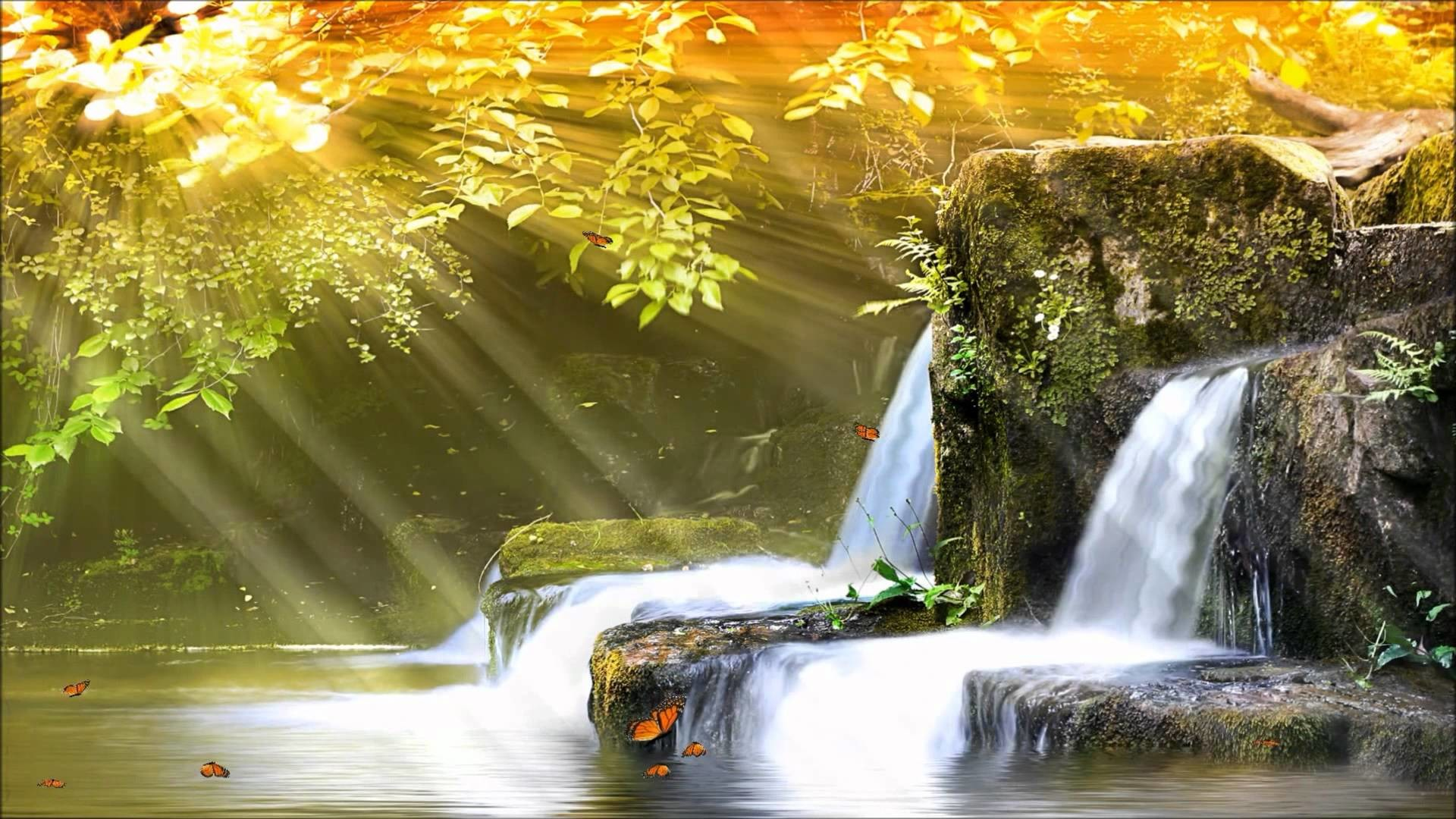 3d Live Waterfall Wallpapers Animated Waterfall Wallpaper With Sound 46 Images