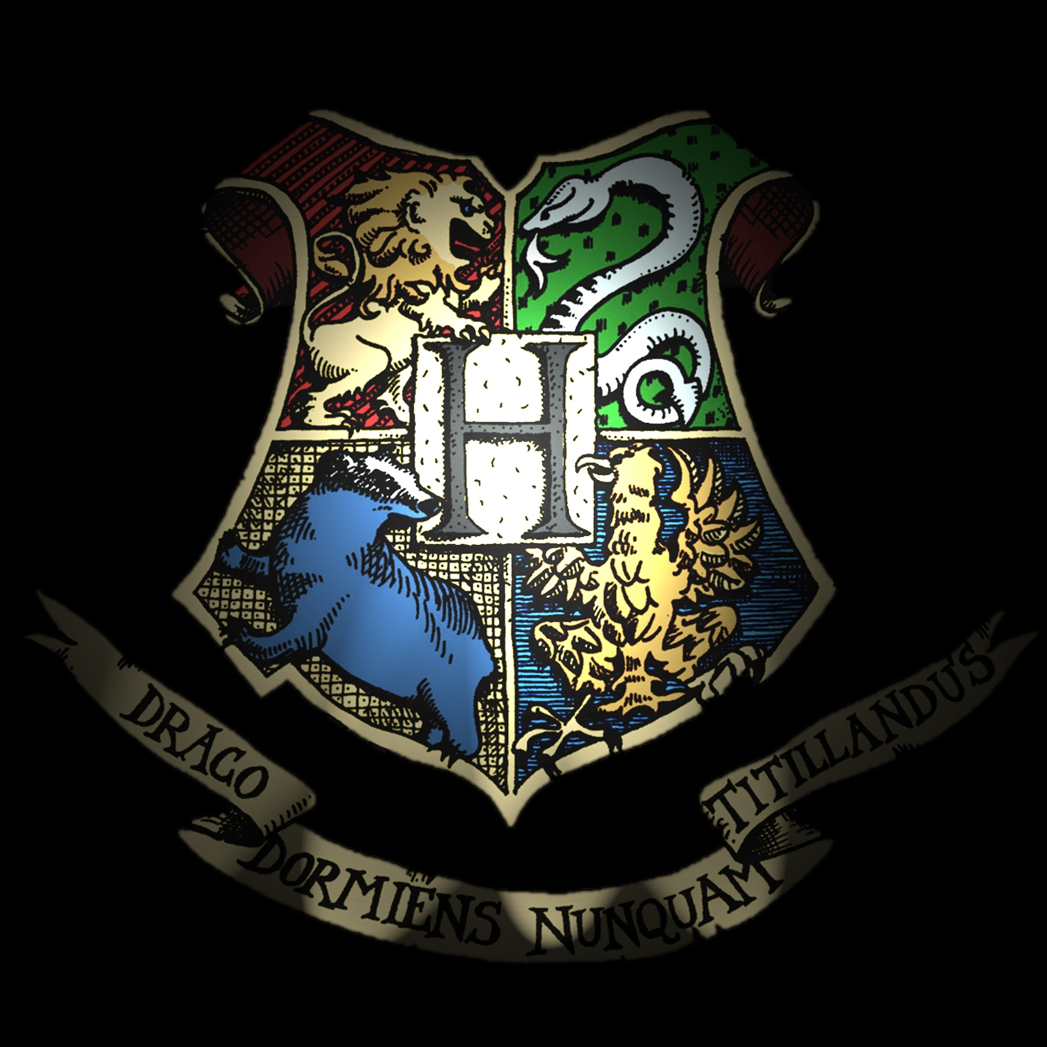 Hufflepuff Wallpaper Iphone Slytherin Crest Wallpaper 65 Images