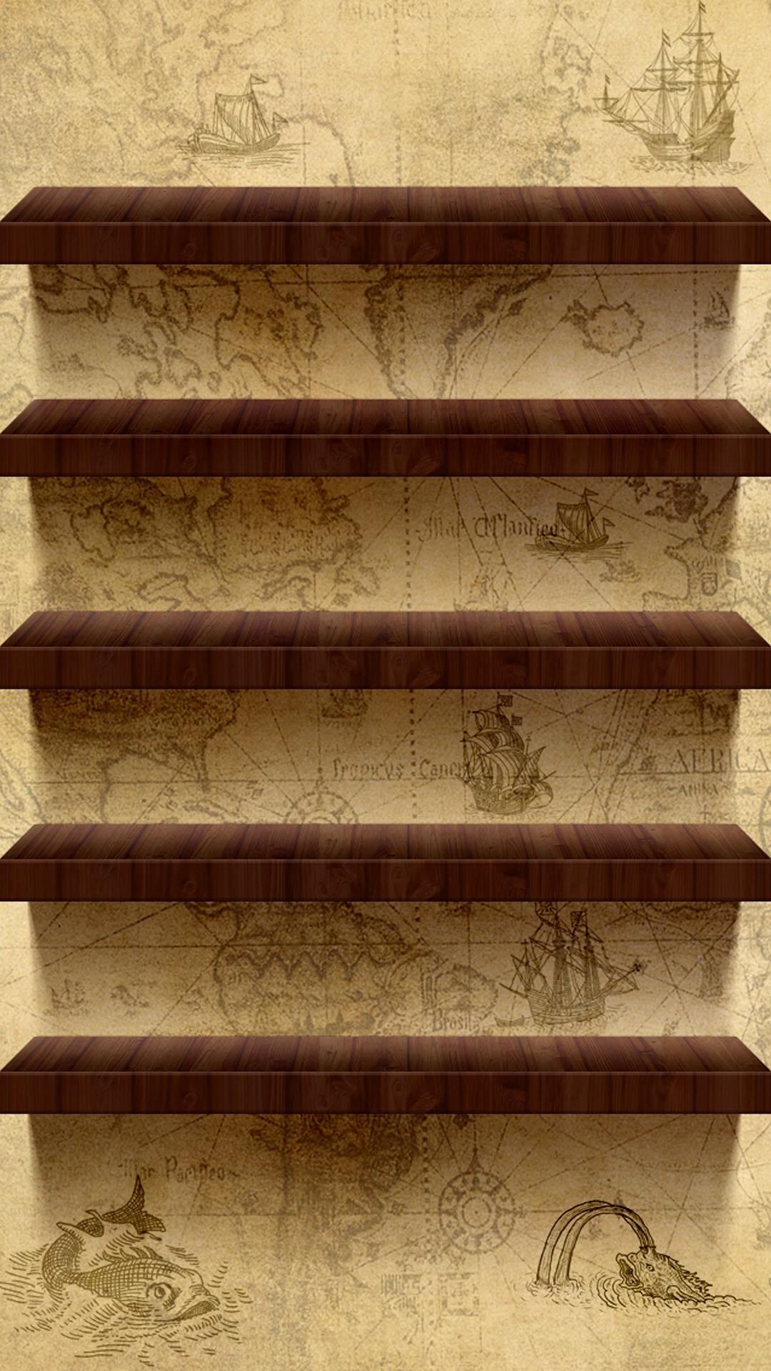 Bookshelf Iphone Wallpaper Desktop Icon Shelf Wallpaper 66 Images