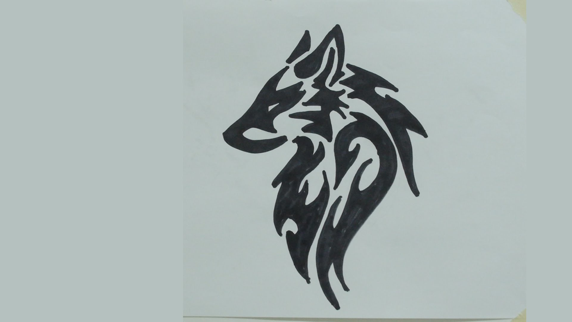 Cute Stitch On Side Wallpaper Tribal Wolf Wallpaper 58 Images