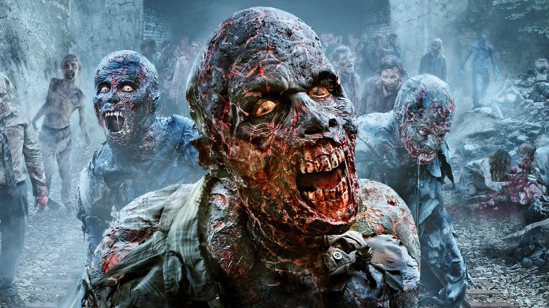 Free Fall Desktop Wallpapers Backgrounds Scary Zombie Wallpaper 67 Images