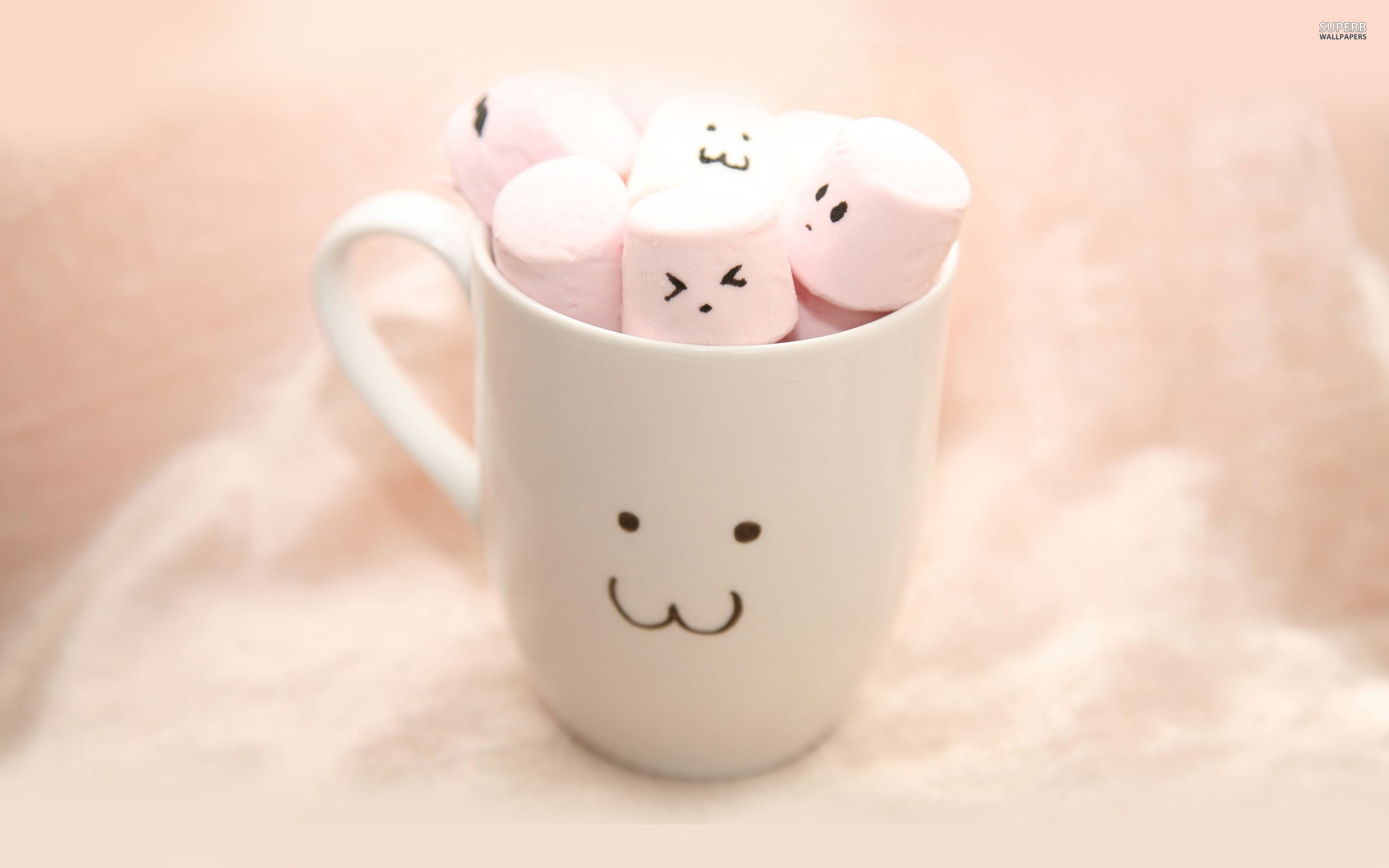 Cute Marshmallow Wallpaper Hd Cute Marshmallow Wallpapers 61 Images