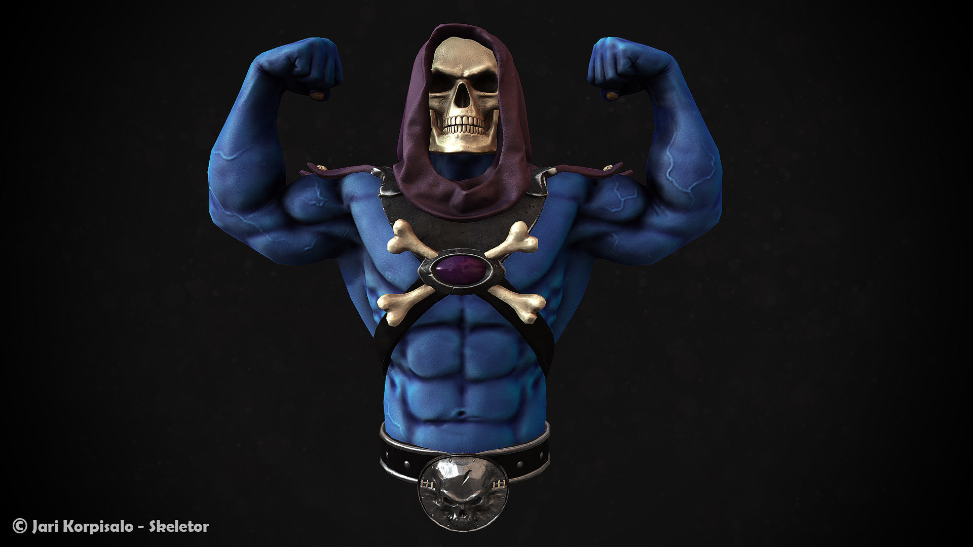 3d Parallax Wallpapers Androod Skeletor Wallpaper 68 Images
