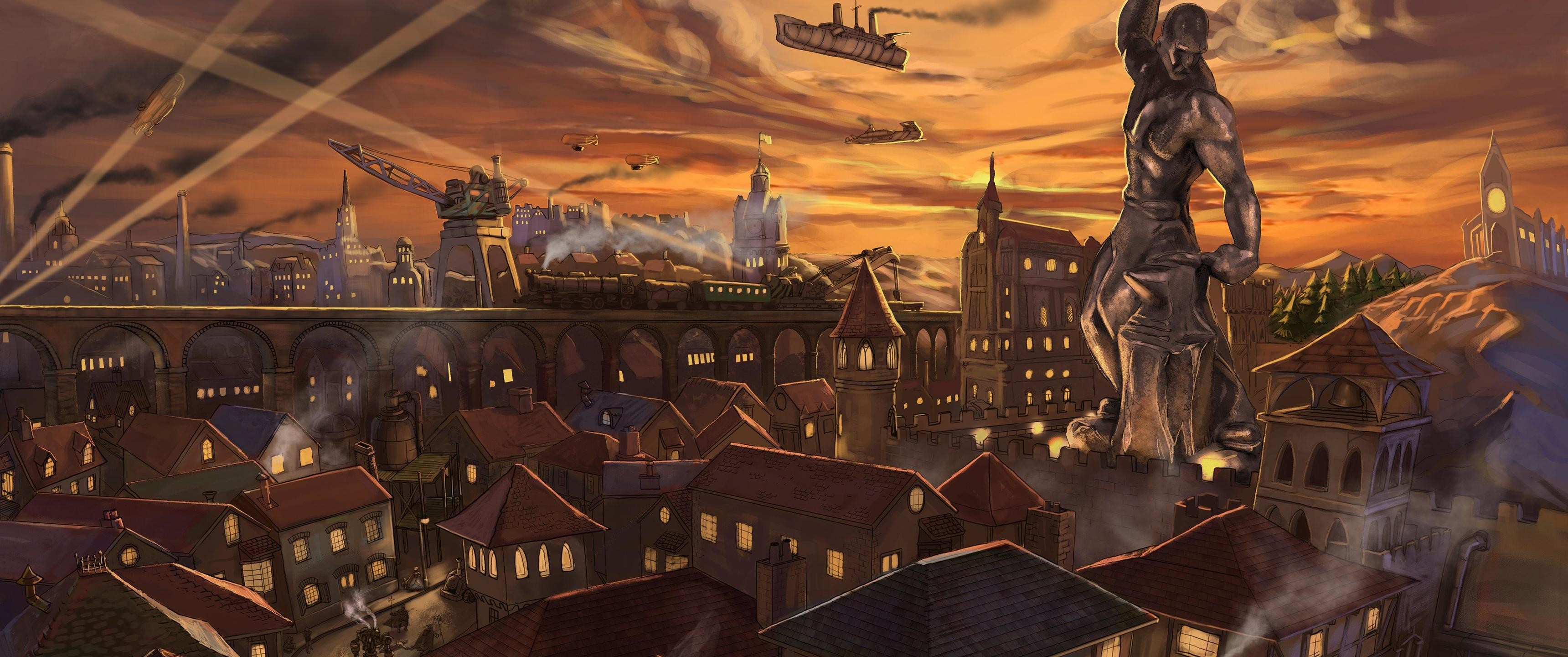 Steampunk Backgrounds 72 Images