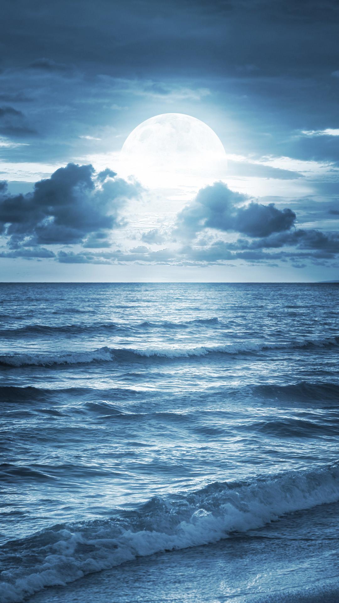 Dark Floral Iphone Wallpaper Blue Ocean Wallpaper 75 Images
