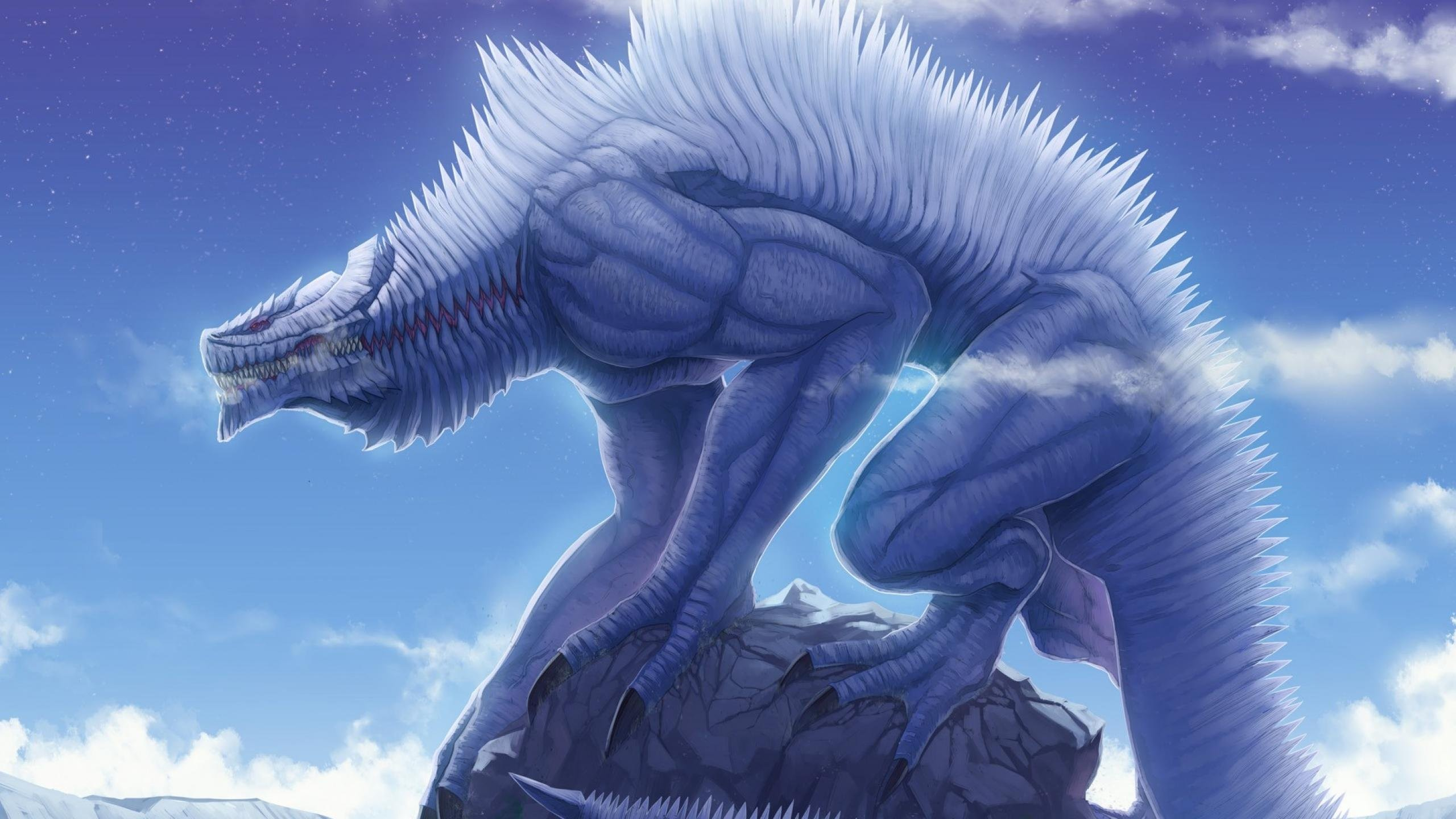 Ice Wolf 3d Wallpaper Download Mythical Creatures Wallpaper 67 Images
