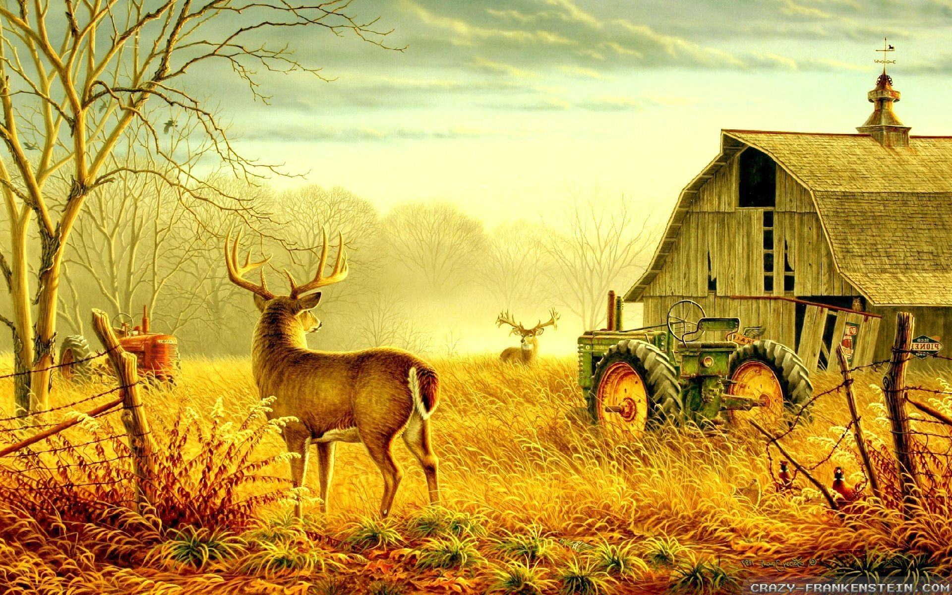 Beautiful Animated Girl Wallpapers Farm Scene Wallpaper 37 Images