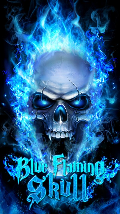 Flaming Skull Wallpaper (59+ images)