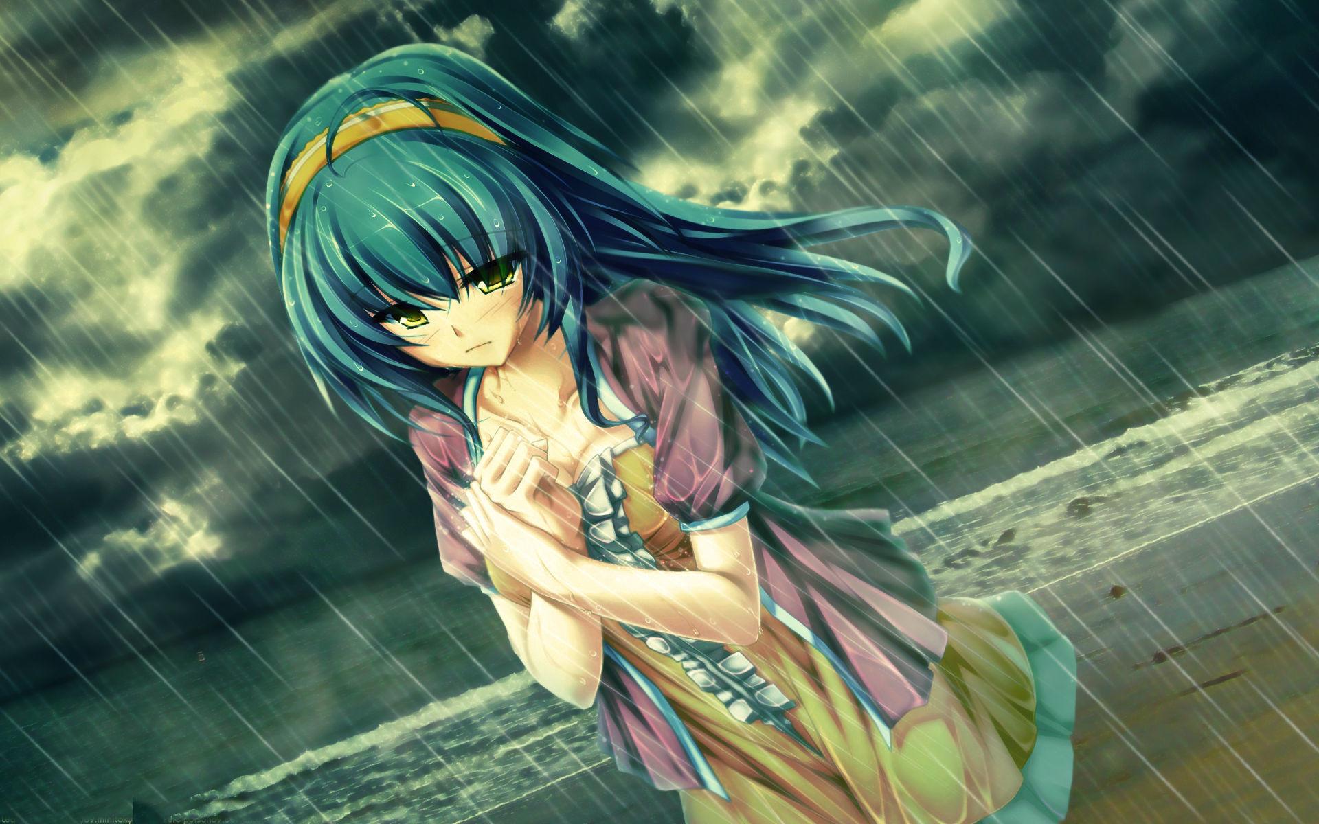 Sad Boy And Girl Wallpaper Full Hd Sad Anime Wallpaper 64 Images